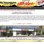 Local Mr.Transmission located in Gresham Oregon.